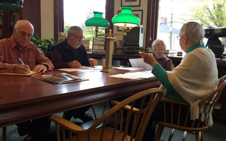 Meeting at the Witherle Library