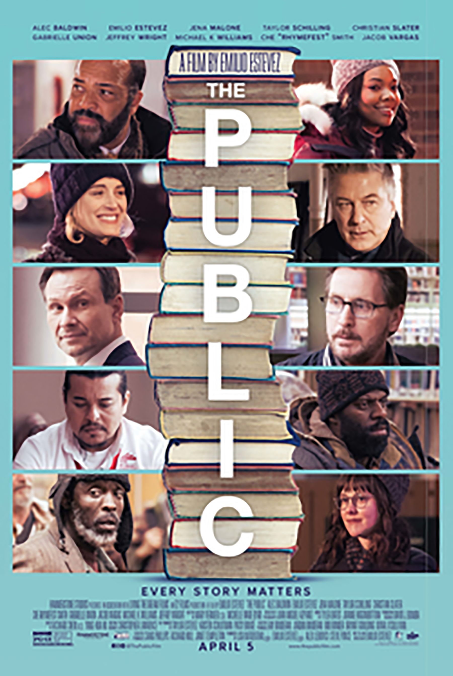 Film: The Public at the Alamo Theater in Bucksport