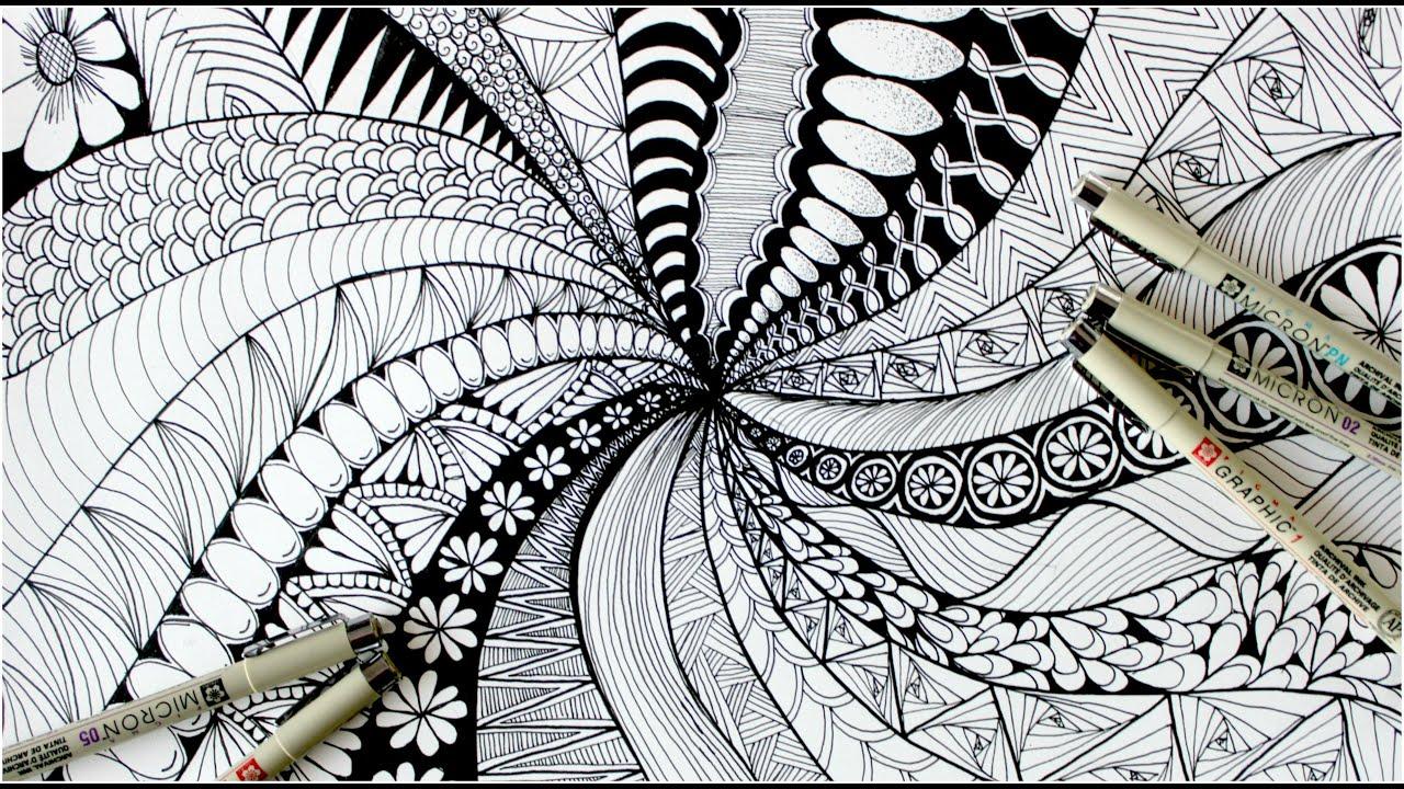 Art Night: Zentangle with Debby Neve