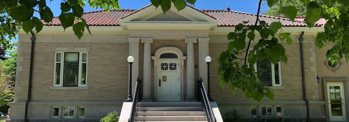 Front of the Witherle Memorial Library